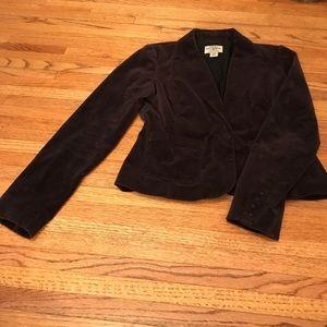 L Velvet Jacket